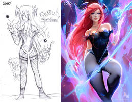 Redrawing my old Art!!
