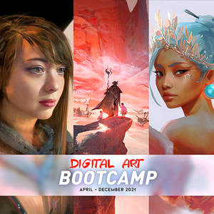 DIGITAL ART BOOTCAMP!