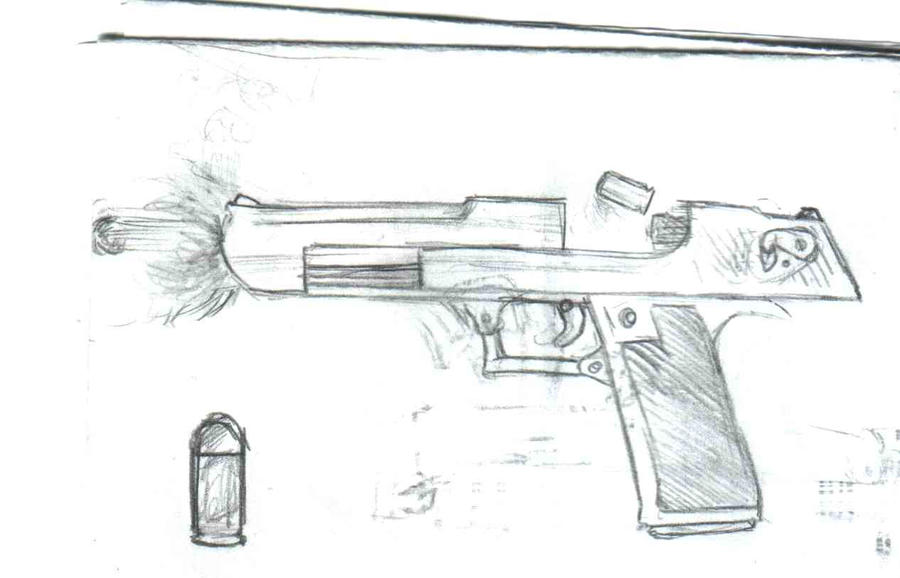Deagle Drawing