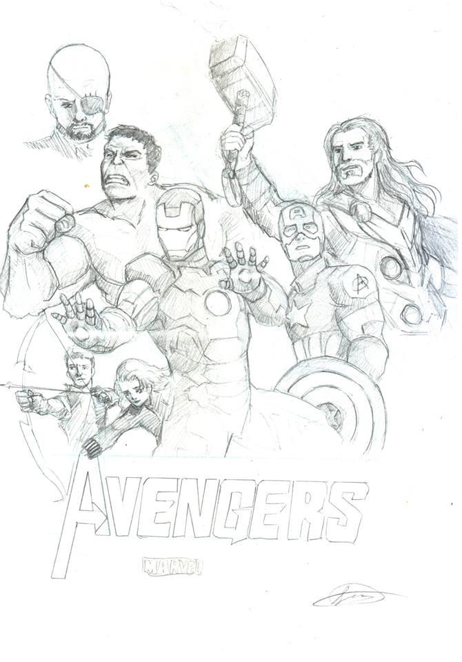 Avengers by samzhengpro