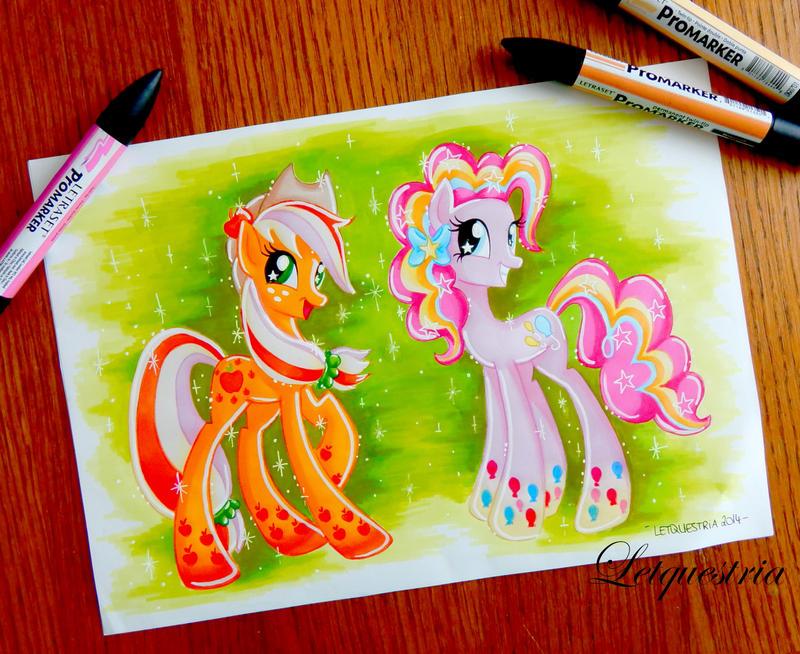Rainbow Power Earth Pony by Letquestria