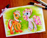 Rainbow Power Earth Pony