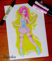 Human Pinkie Pie by LtiaChan
