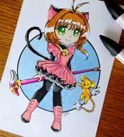 Chibi Sakura by LtiaChan