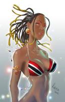 Trinbagonian Girl by 1000xPain