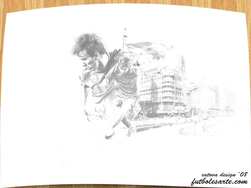 Leo Messi Sketch by catova