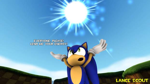 [SFM] Sonic's spirit bomb (Parody of DBZ)