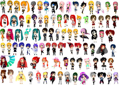 [MMD] My RUMMY model collection +DL Links