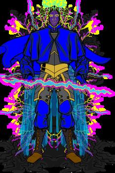 Storm Genasi Male