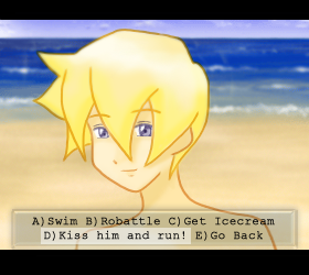 Swimming anime dating sim deviantart anime
