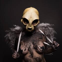 skull angel [STOCK IMAGE]