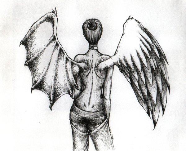 Half Angel Half Demon by LaMont-Naruto16