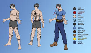 Mark Human Reference 03 by Kynum