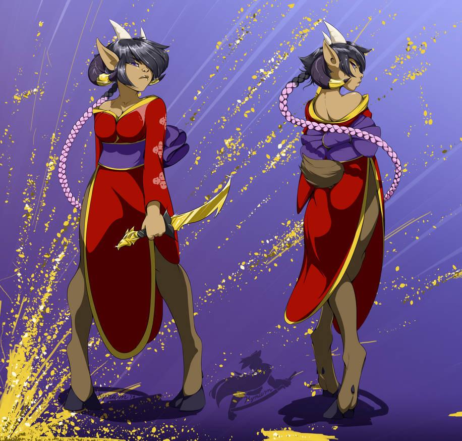 Dahlia Kimono by Kynum