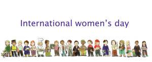 8 de marzo - International women's day by Scaero