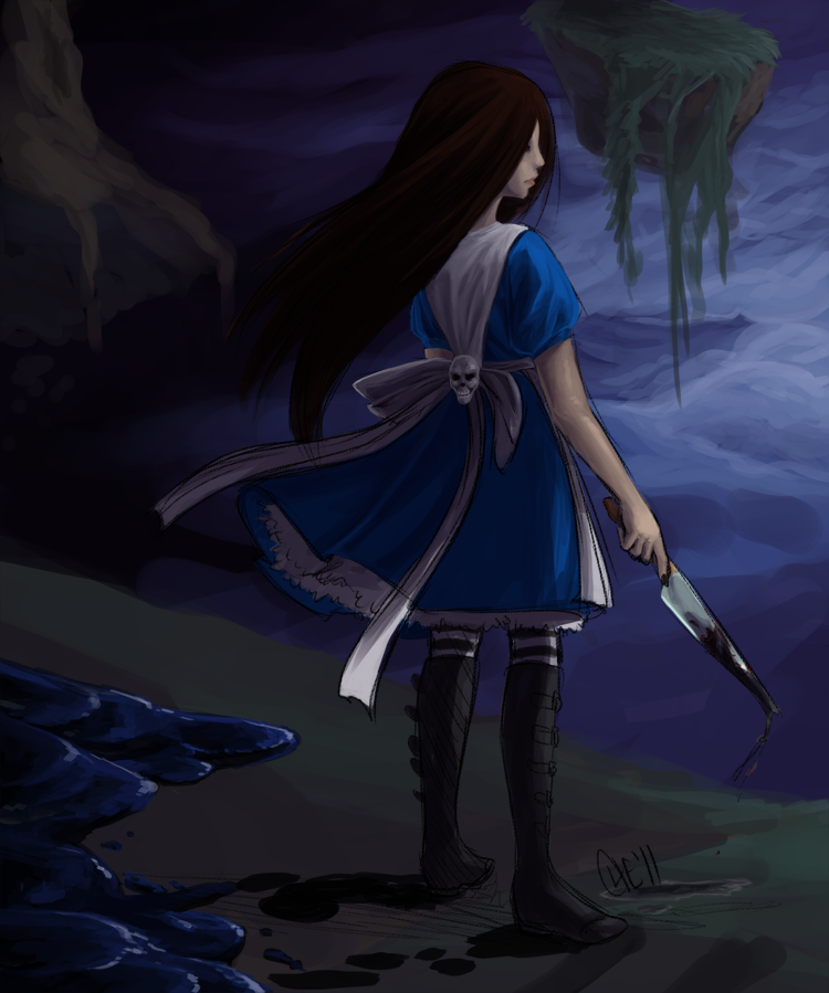Alice fanart WIP by Chebits