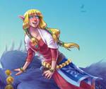 FANART: Skyward Sword Zelda