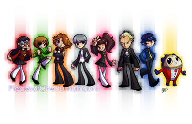 Persona 4 by Chebits