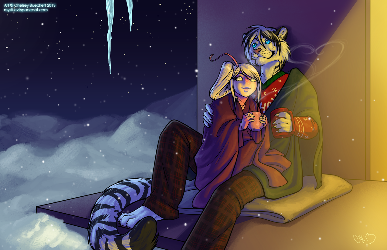 The Stars, How They Shine For You -- Comm by Chebits