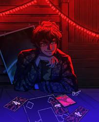 Mischievous Boy // Commission