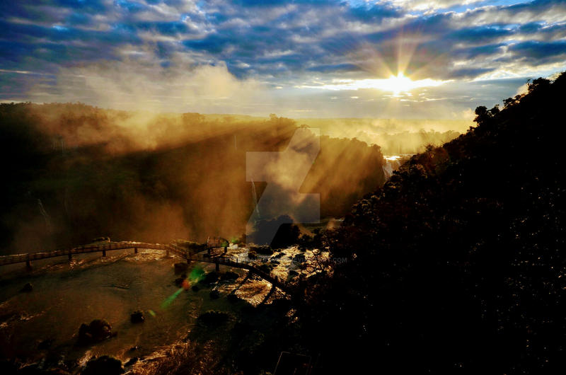 iguazu falls sunset - photo #24
