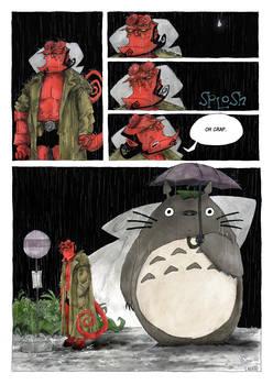 a short hellboy tale