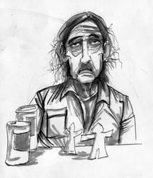 True Detective daily sketch