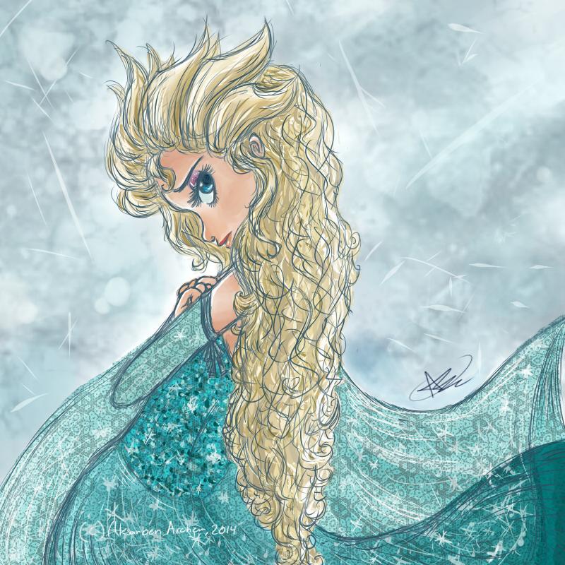 .:Elsa:. by AksarbenArcher