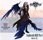 .:{MMDxKH} KH2 Sephiroth Model DL :.