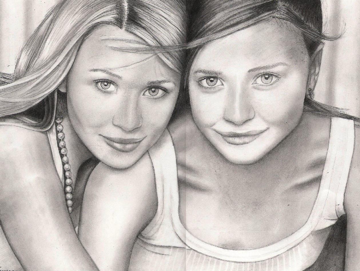 The Olsen Twins by Leopardskinpyjamas