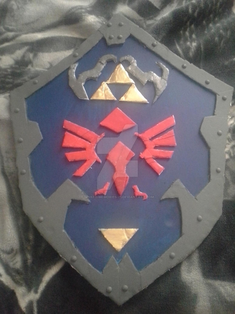 Legend of Zelda Hyrule Shield Complete by Linked-Memories-21