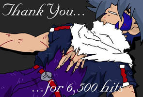 Thanks - 6 500 hits by SolitaryWolf
