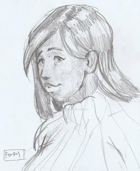Commission - Caramel Sketch - FONZOS