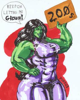 She-Hulk  for YOU! - FONZOS