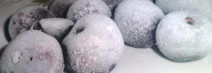 Frozen cherries by Maverick1508
