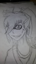 INKLING Oc Ryouzai headshot by AskThebakaheartless
