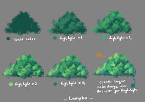 Anime tree tutorial by lampbo
