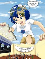 Earth-chan by giantwaifus