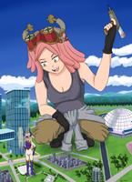 Mei Hatsume by giantwaifus