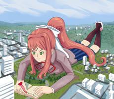 Just Monika by giantwaifus