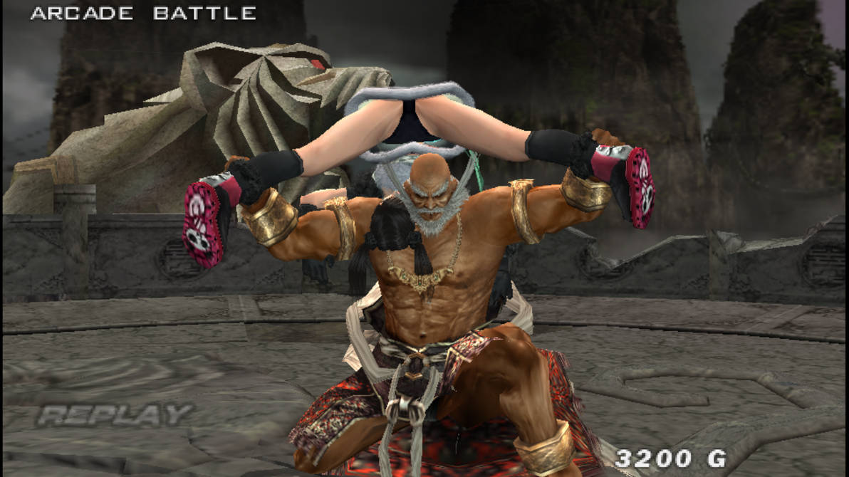 Tekken 5 Jinpachi Human Vs Xiaoyu By Lg999 On Deviantart