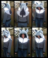 Wolf Hoodie - FOR SALE by shagpokestudios