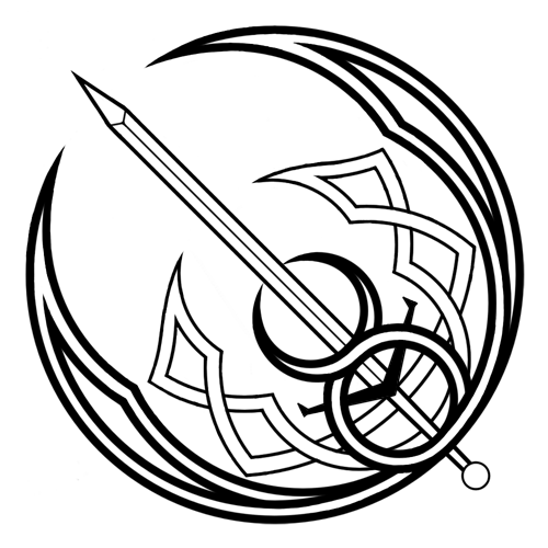 Celtic Crescent Moon Drawing | www.imgkid.com - The Image ...