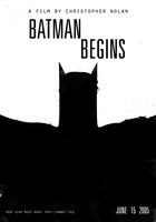 BATMAN BEGINS - Nolan Poster by edsonmuzada