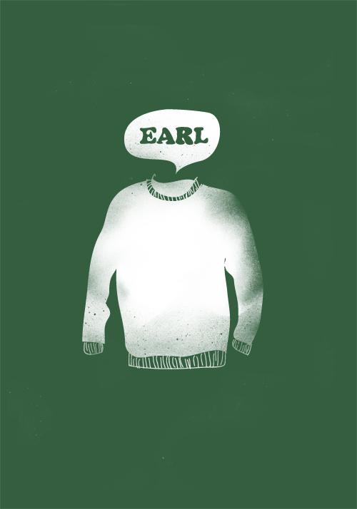 Earl Sweatshirt By Edsonmuzada