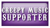 Creepy Music supporter by StampCollectors