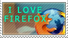 I Love Firefox by StampCollectors