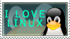 I Love Linux by StampCollectors