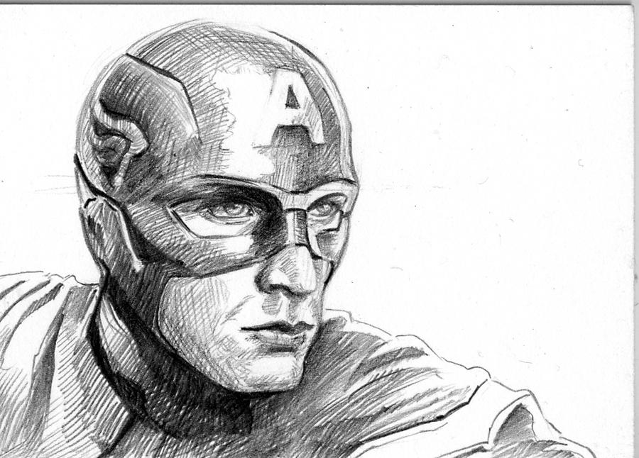 Captain America by teach
