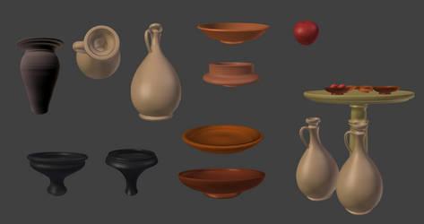 Roman and Germanic Ceramic